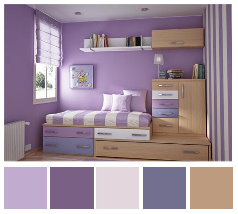 August color palette of the month suncrest homes - What colour goes with lilac ...